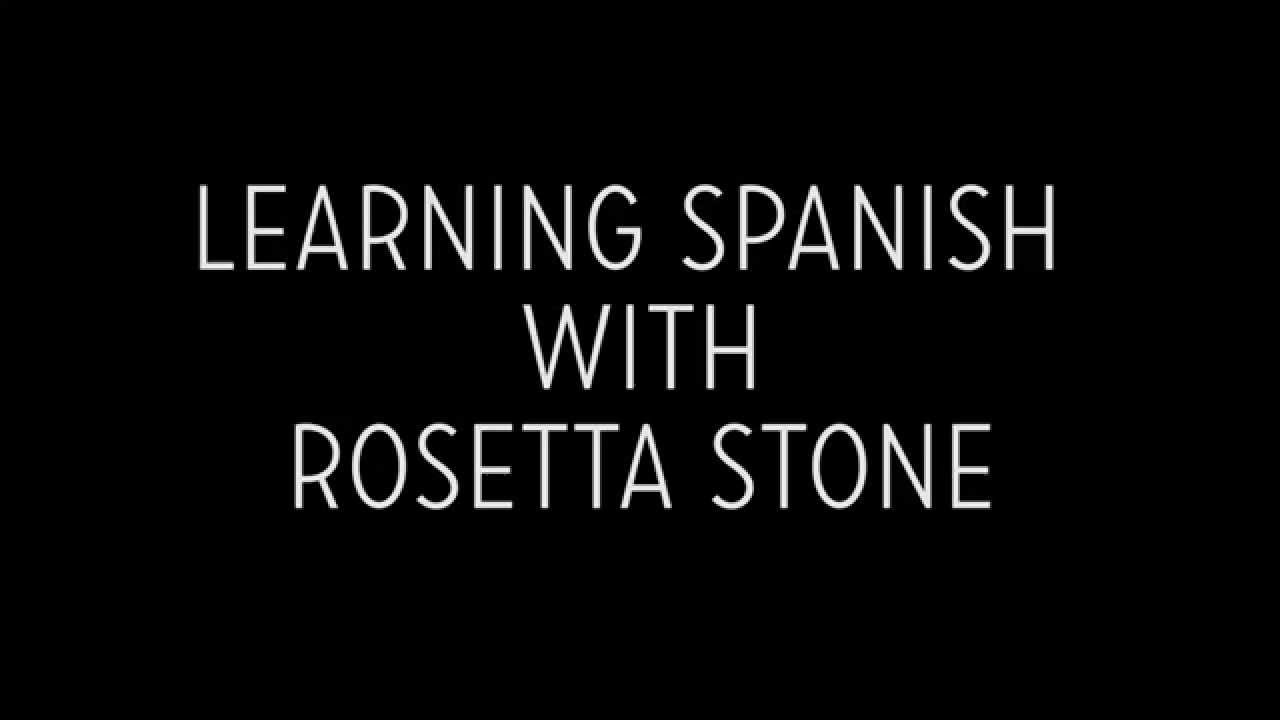 Learning Spanish with Rosetta Stone image