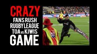 CRAZY Fans RUSH TOA SAMOA vs KIWI Rugby League Game