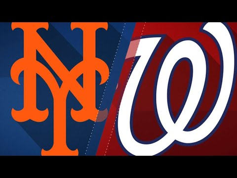 Nats score early and often in lopsided win: 7/31/18