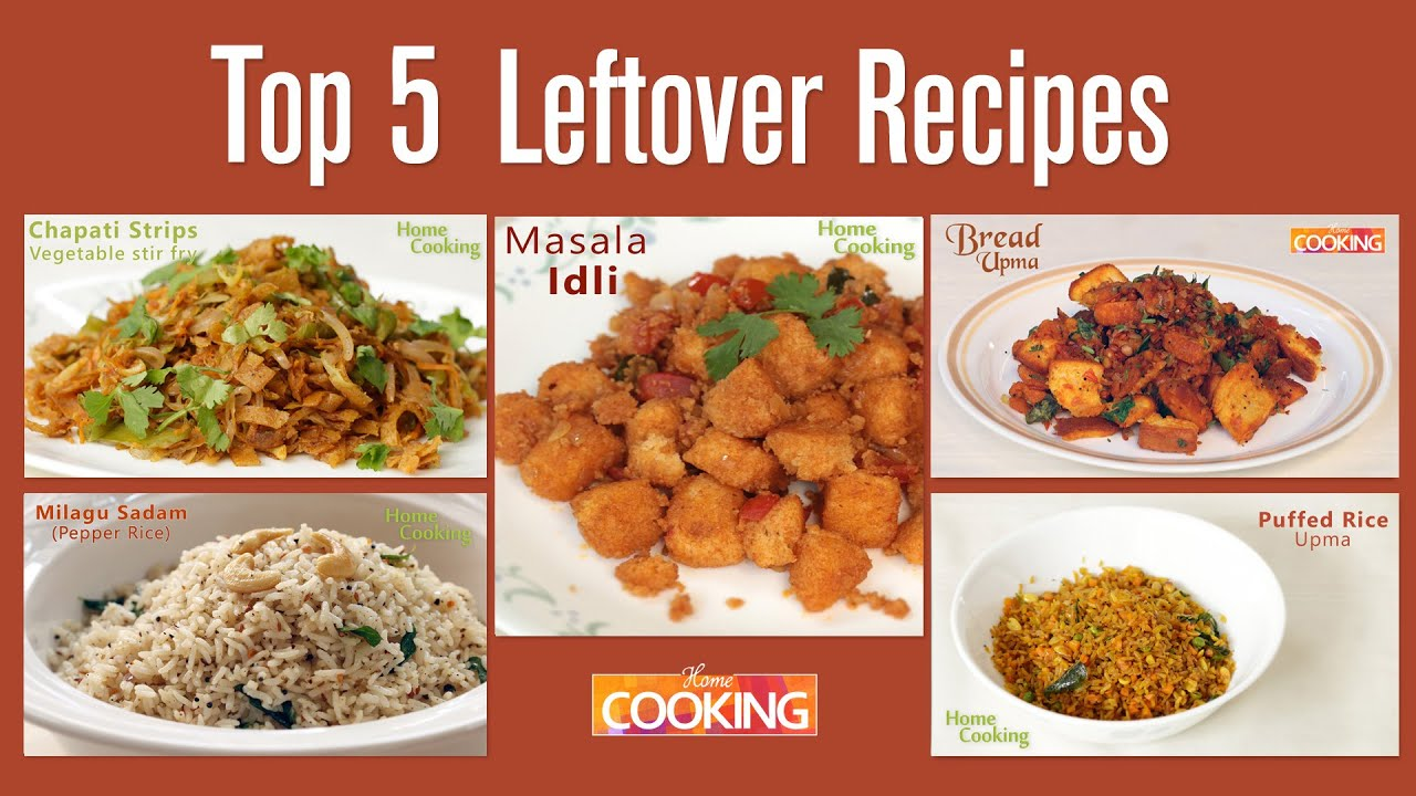 Top 5 awesome recipes from leftover foods home cooking youtube top 5 awesome recipes from leftover foods home cooking forumfinder Images