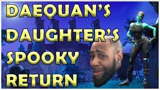 Things Get Spooky With Daequan And His Daughter Fortnite Moments