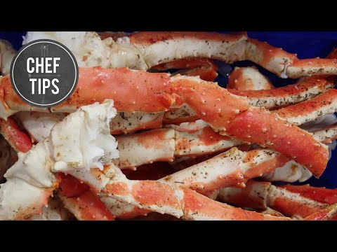 How to make crab legs on the grill