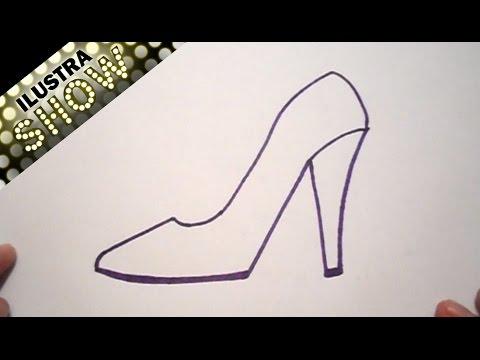 Dibujar Una Zapatilla Tutorial Ilustra Show Youtube