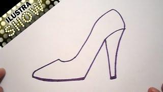 Dibujar Una Zapatilla Tutorial ILUSTRA SHOW