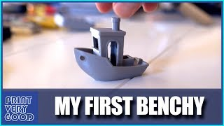 My First Ever 3DBenchy!