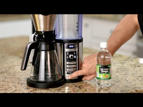 Descaling your Ninja Coffee Bar™
