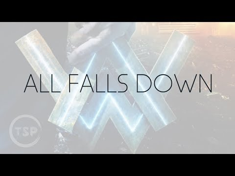 Alan Walker - All Falls Down (Acoustic Instrumental) Karaoke ft. Noah Cyrus, DFA | w/Lyrics
