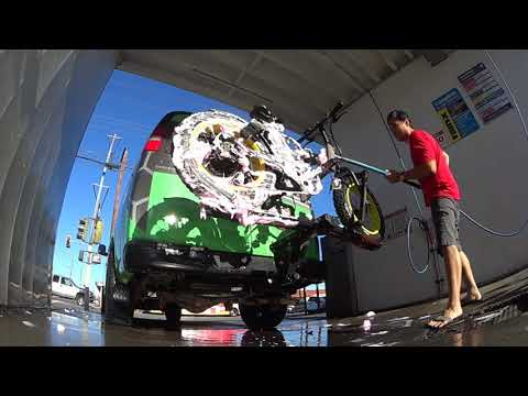 Electric Bicycle Quick & Easy Wash after a ride in Long Beach