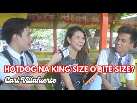 HOTDOG na Bite Size o King Size? HAHAHA LAPTRIP! | Interview #2
