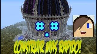 Como construir mas rápido MinecraftPE