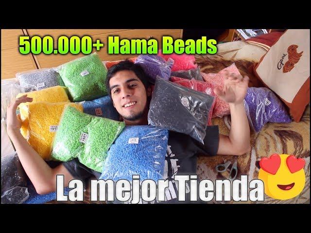 Unboxing de mas de 500.000 Hama/Perler Beads - NUEVA TIENDA ?
