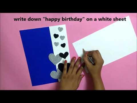A Beautiful Handmade Birthday Card Idea
