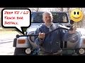 Jeep Wrangler - TJ / LJ - Change the Front Track Bar
