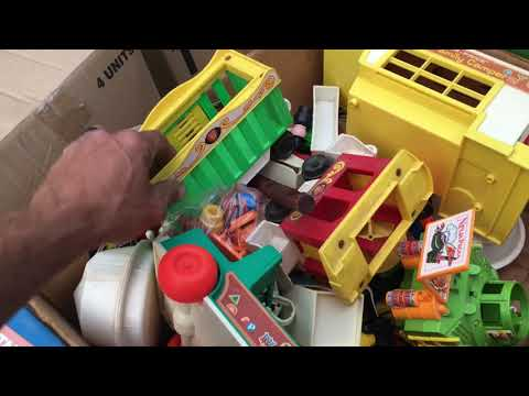 What Sells On EBay Vintage 1980's Toys Found At Yardsale Fisher Price