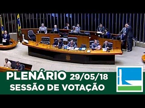 PLENÁRIO - Sessão Deliberativa - 29/05/2018 - 16:02