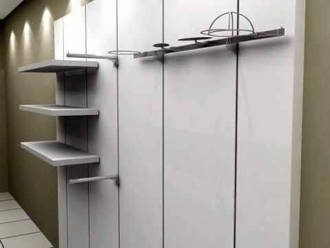 Line Wall System Shopline Store Fixtures Youtube