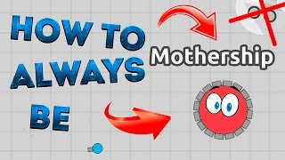 HOW TO BE MOTHERSHIP IN DIEP.IO - HOW TO BECOME MOTHERSHIP IN DIEP.IO [TUTORIAL] [NO INCOGNITO]