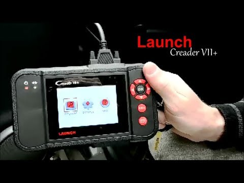 Launch C-Reader VII+ OBDII ABS SRS TCC LAW EHPS CEL Scan Tool Review