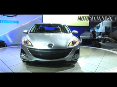 2008 los angeles auto show 2010 mazda 3 youtube for Motor trend channel youtube
