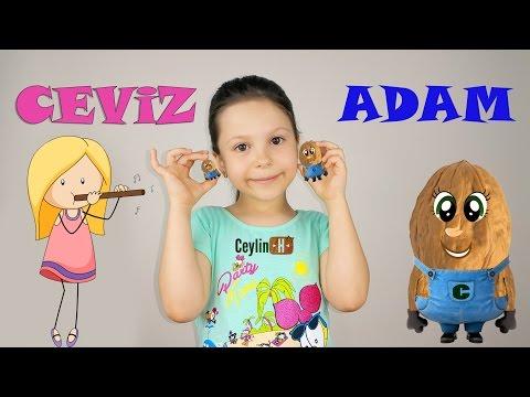 Ceylin-H | Ceviz Adam Çocuk Şarkısı -  Nursery Rhymes & Super Simple Kids Songs Sing & Dance