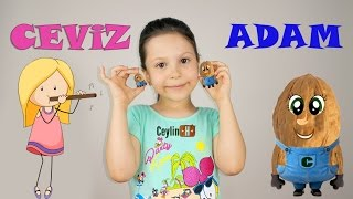 Ceylin-H | Ceviz Adam Çocuk Şarkısı -  Nursery Rhymes & Super Simple Kids Songs Sing & Dance