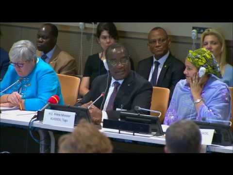 """High-Level Discussion on Moving SDG7 Forward """"Leaving No One Behind"""""""