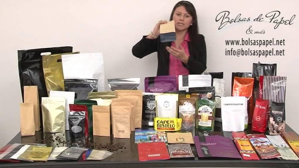 Bolsas para caf youtube for Donde venden vinilos para pared
