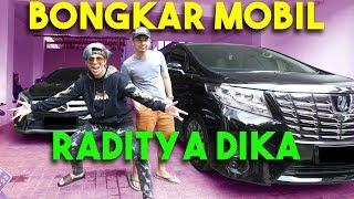 BONGKAR MOBIL MEWAH RADITYA DIKA! #AttaBongkarMobil