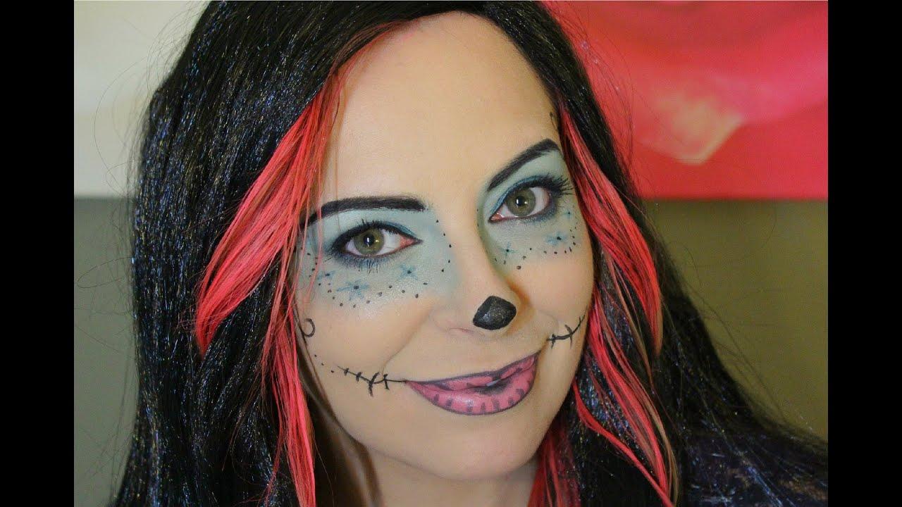 skelita calaveras makeup monster high maquillaje youtube - Skelita Calaveras Halloween Costume