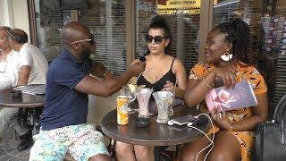 Les filles de Paris prefèrent les gars noirs ou les blancs ?  Feat. Diego Morissou