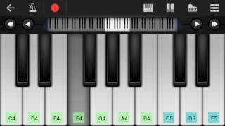 Kaun tujhe  perfect piano |M.S. DHONI -THE UNTOLD STORY|Amaal Malik |Palak Muchhal