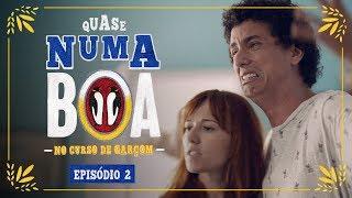 #QuaseNumaBOA - No Curso de Garçom | Ep. 2 | BOA thumbnail