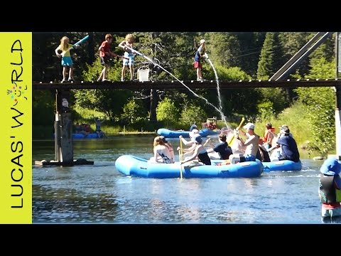 Rafters GET SPLASHED on Truckee River by 4 little Kids | TODAY'S TOP YOUTUBE VIDEO