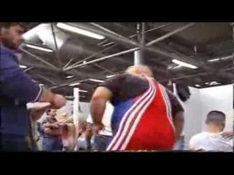 Powerlifting Coppa Italia 2005 - backstage sslazio