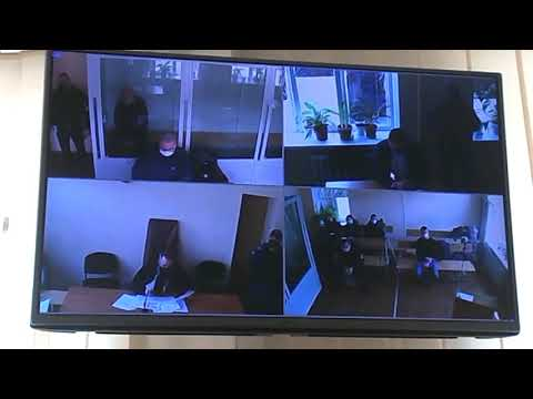 Nikopolnews: Из зала суда  Мера пресечения подозреваемому в убийстве полицейского