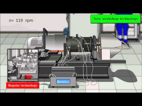 The COMPACS-RPM system for vibration analysis of console pump rotors
