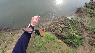 Охота с Рогаткой по реке Из архива SLINGSHOT FISHING