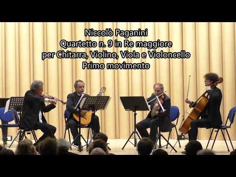 Niccolò Paganini - Quartetto n. 9 in Re maggiore - Primo movimento