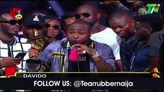 DAVIDO & GANG WINS 5 HEADIES 2018 AWARD INCLUDING ARTIST OF THE YEAR