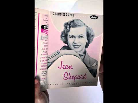 Jean Shepard  **TRIBUTE**  I Learned It All From You 1955.