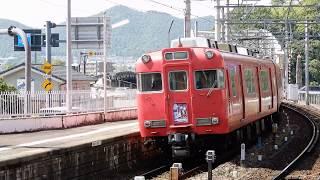 【ぎふ鉄道博物館系統板】名鉄6000系6006f 回送列車 犬山遊園駅通過【4K】