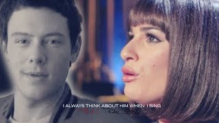finn & rachel | I always think about him when i sing (5x17)