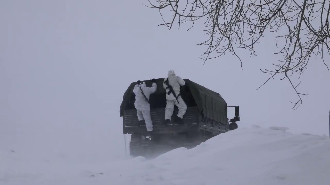 Учение по захвату секретных документов спецназом под Новосибирском