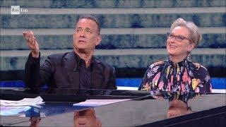 Meryl Streep e Tom Hanks (1^ parte) - Che tempo che fa 14/01/2018