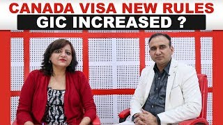 Canada Visa New Rules April 2019 | GIC Increased?
