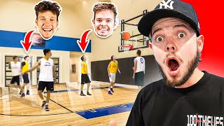 Reacting To Mine & Jesser's Old Basketball Highlights!