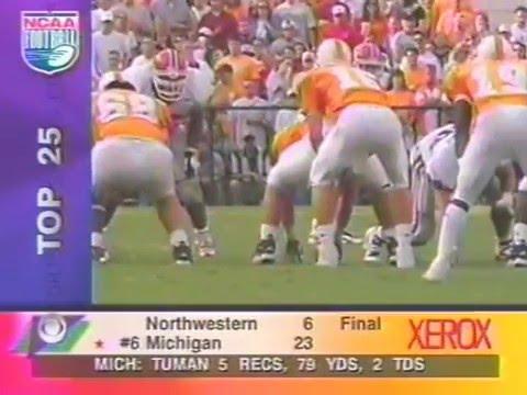 1997 # 9 Tennessee vs # 13 Georgia