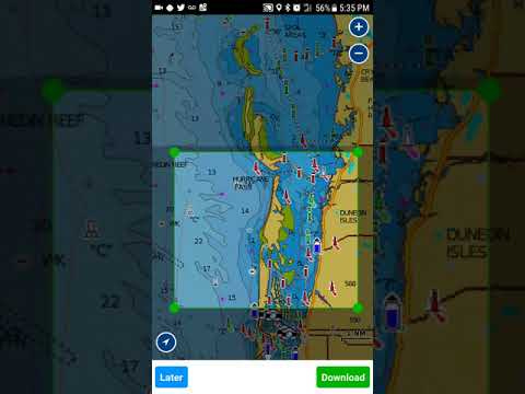 How To Download A Section Of A Chart In Your Navionics Boating App