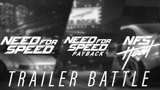 Need for Speed Trailer Battle | 2015 vs. Payback vs. Heat