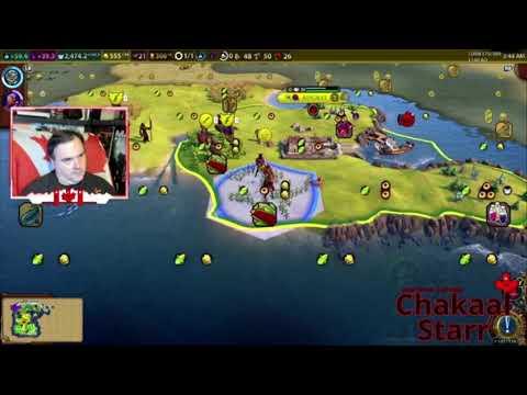 Civilization 6 Ethiopia battle for pirate island FB Ep 22 Clip (Aug 2 2020)  